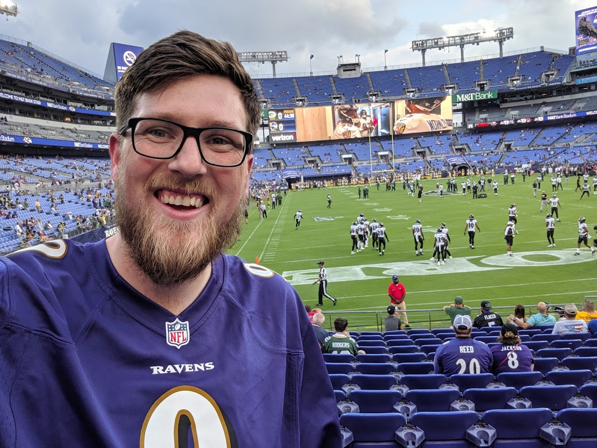 Jake at MT&T Bank Stadium